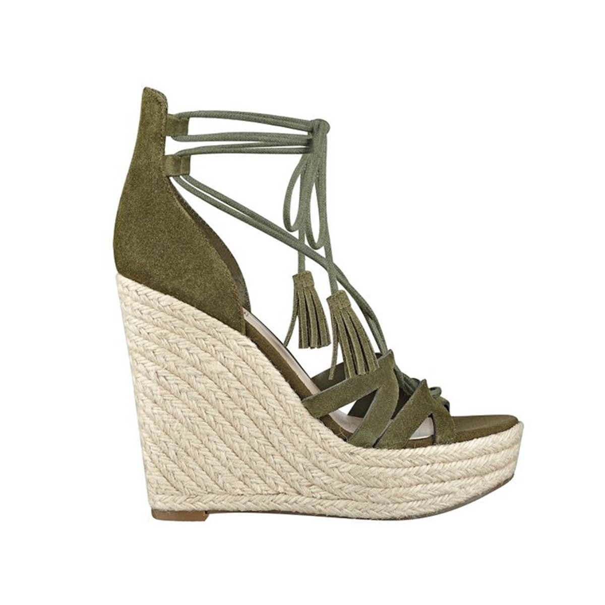 Ollina Suede Wedges