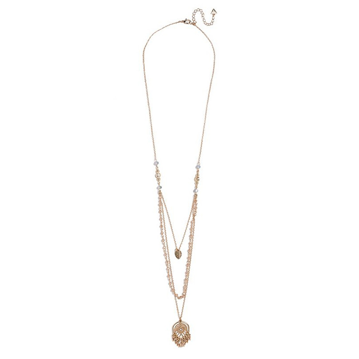 Carla Layered Rosary Necklace