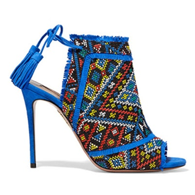 Colorado Embroidered Suede Sandals