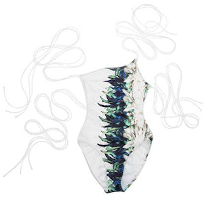 Asymmetrical One-Piece Swimsuit
