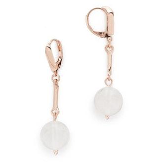 Dahlia Orb Day Drop Earrings