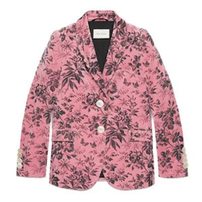 Herbarium Velvet Jacket