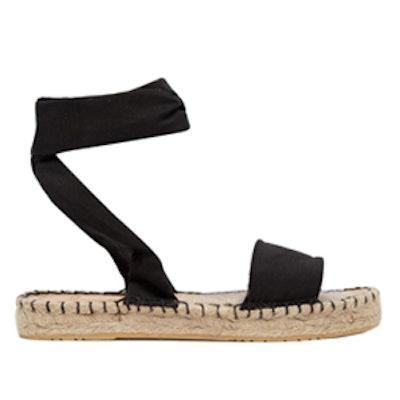 Jasmine Tie Leg Espadrille Sandals