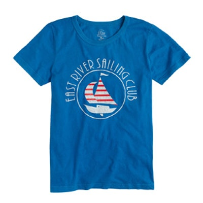 Sailboat Garment-Dyed T-Shirt