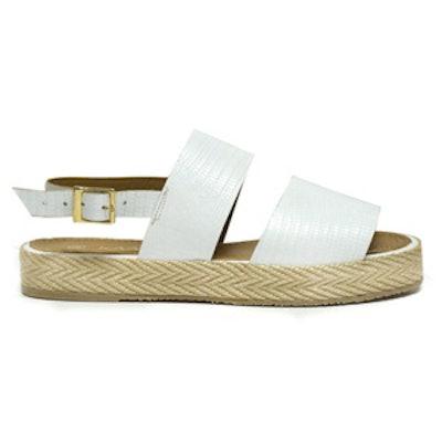 Nice White Sandals