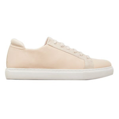 Kam Neoprene And Leather Sneaker