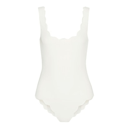 Palm Springs Scalloped Swimsuit