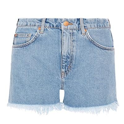 Halsy Cut-Off Denim Shorts