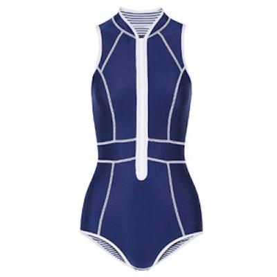 Neoprene One-Piece Swimsuit