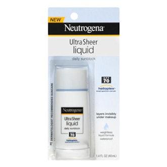 Ultra Sheer Liquid Daily Sunscreen
