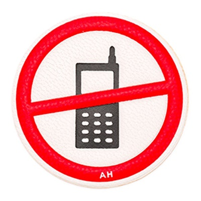 No Phones Bag Patch