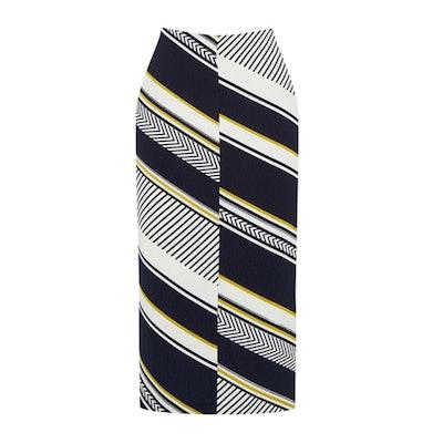 Memphis Stripe Pencil Skirt