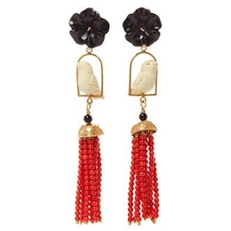 Black Swingers Earring