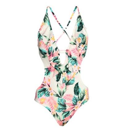 Ruffled Swimsuit