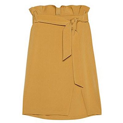 Burke Tied Paperbag Pencil Skirt