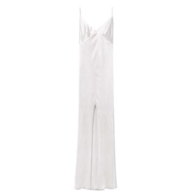 Premium Cut-Out Silk Dress