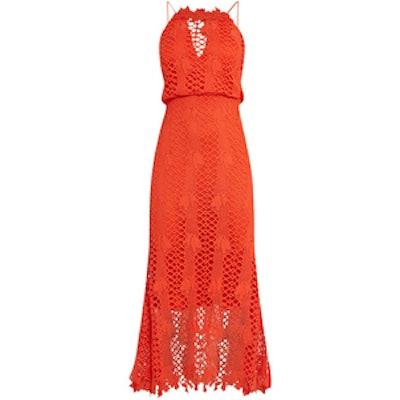 Premium Lace Midaxi Dress