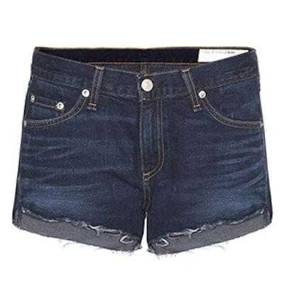 Cutt Off Denim Shorts