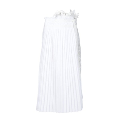 Lily Lace Pleated Skirt