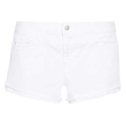 Sachi Stretch Denim Shorts