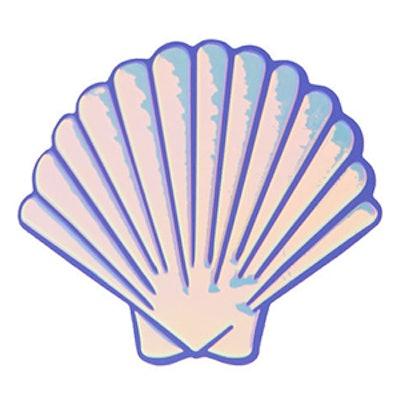 Shell Plushie Sticker