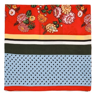 Summer Colors Print Scarf