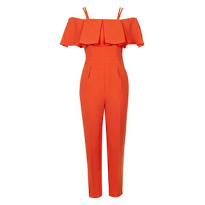 Cold Shoulder Bardot Jumpsuit