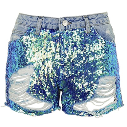 MOTO Sequin Ashley Shorts