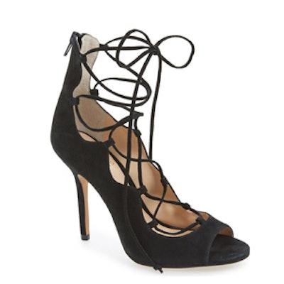 Sandria Peep Toe Ghillie Sandal
