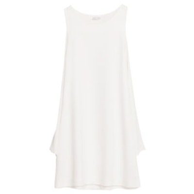 Dress With Cut-Out Sleeves