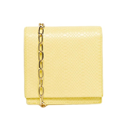 Snake Cross Body Bag With Chain