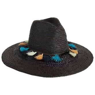 Tassel Straw Panama Hat