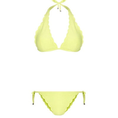 Ecuador Scallop Triangle Bikini