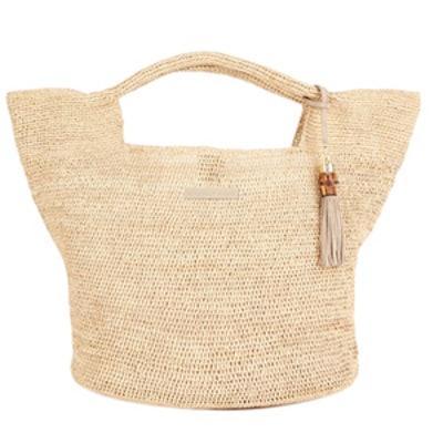 Grace Bay Large Raffia Bucket Bag