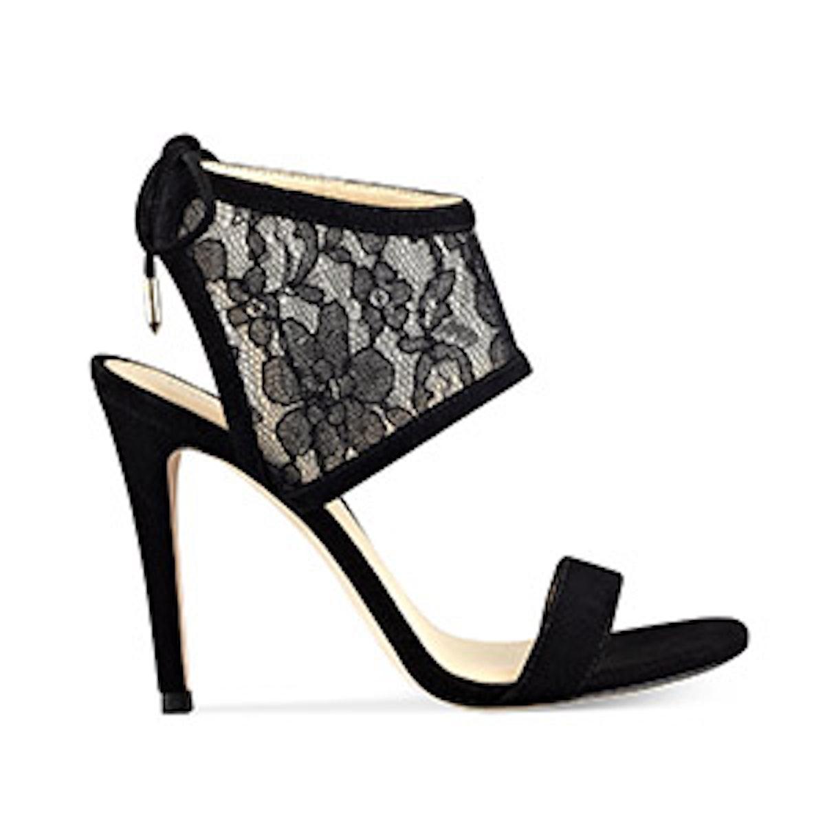 Daza Lace Ankle Cuff Sandals