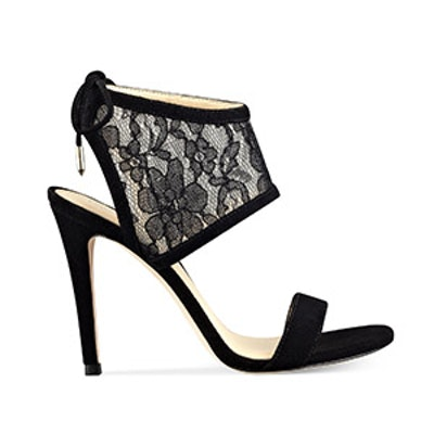 Daza Lace Ankle Cuff Sandals
