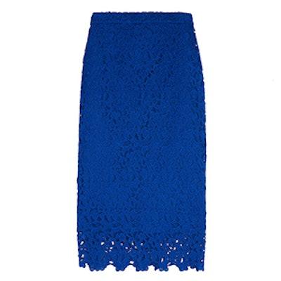 Collection Liola Guipure Lace Pencil Skirt