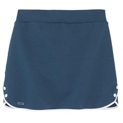 Textured Stretch-Jersey Skirt