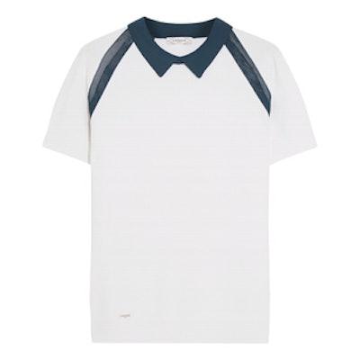 Mesh-Paneled Tennis Top