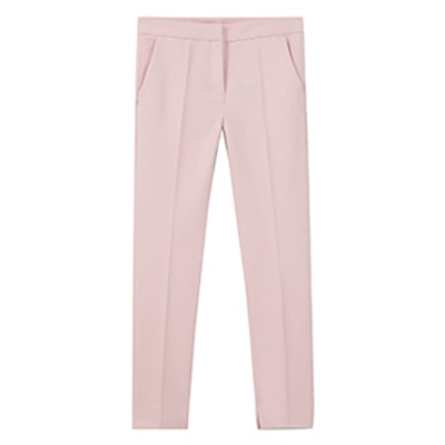 Straight Cotton Trousers
