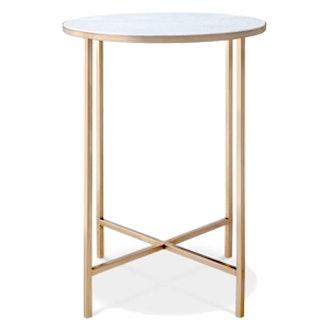 Marlton End Table Gold