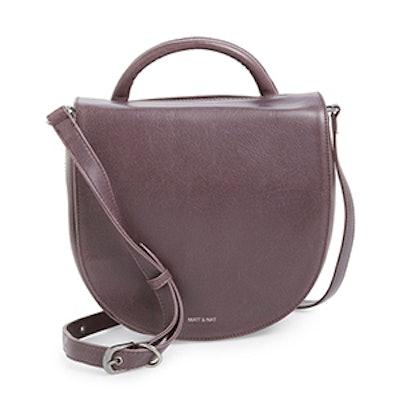 Parabole Vegan Leather Crossbody Bag
