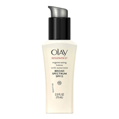 Olay Regenerating Face Moisturizer With SPF 15