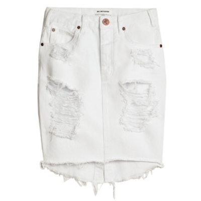 2020 White Beauty Skirt