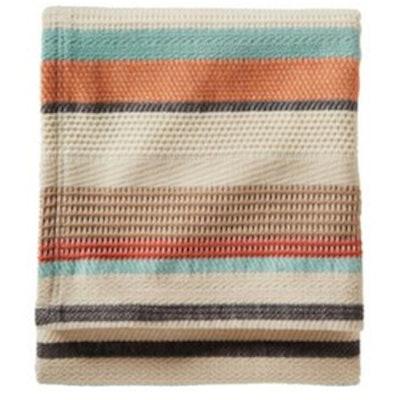 Chimayo Stripe Cotton Blanket