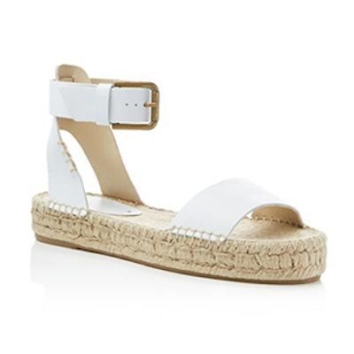 Ankle Strap Flatform Espadrille Sandals
