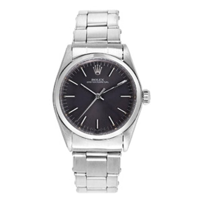 Vintage Stainless Steel Oyster Perpetual Wristwatch