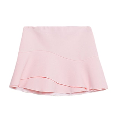 Mini Skirt With Frill