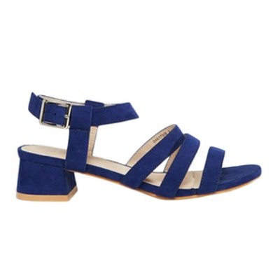 Fortress Flared Heel Sandals