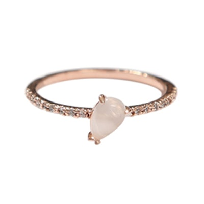 Ronnie Moonstone Crystal Ring